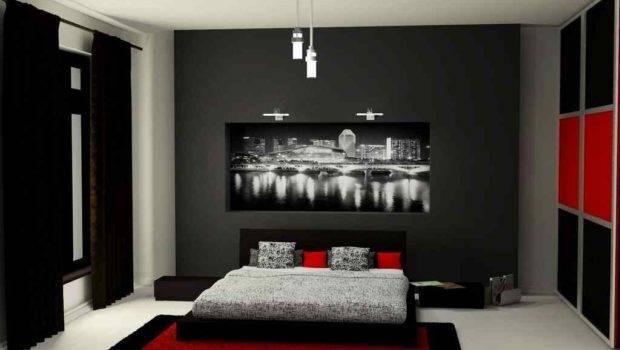 Black Grey Bedroom Ideas