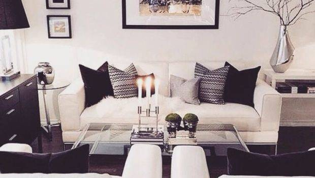 Black Grey White Couches Living Room Ideas Modern Home