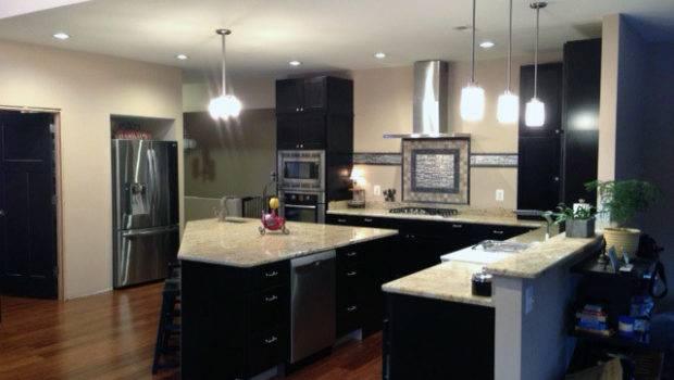 Black Kitchen Cabinets Modern Richmond