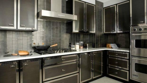 Black Kitchen Contemporary Darci Hether