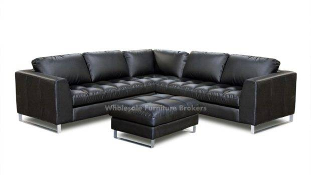 Black Leather Sofas Shaped Sectional Couch White Sectio