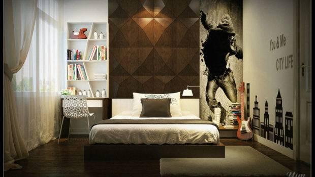 Black Wall Design Ideas Kids Bedroom Decorations