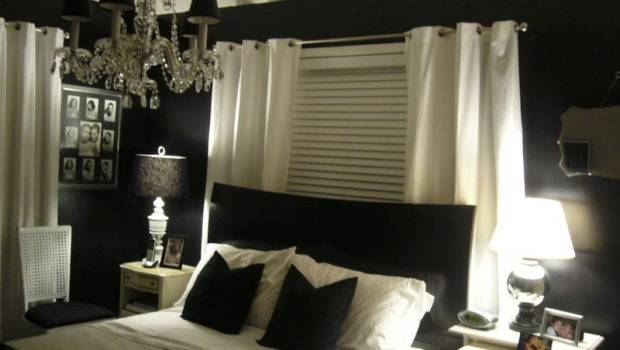 Black White Bedroom Painted Walls Yes Ideas