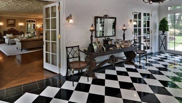 Black White Floor Tiles Ideas