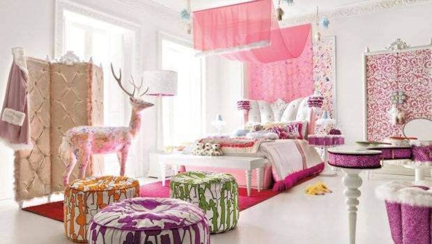 Blog Archive Stylish Pink Teen Girls Room Interior Design Ideas