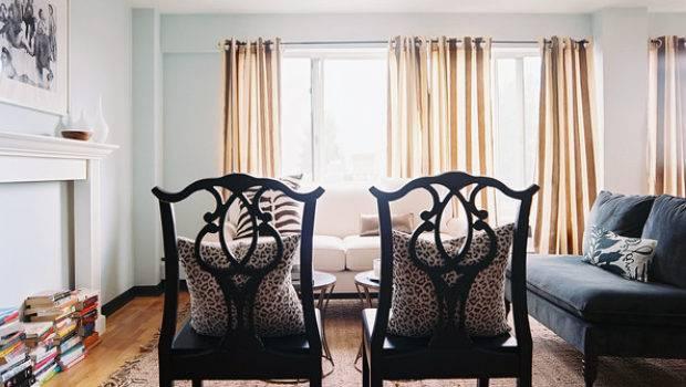 Blue Living Room Photos Lonny