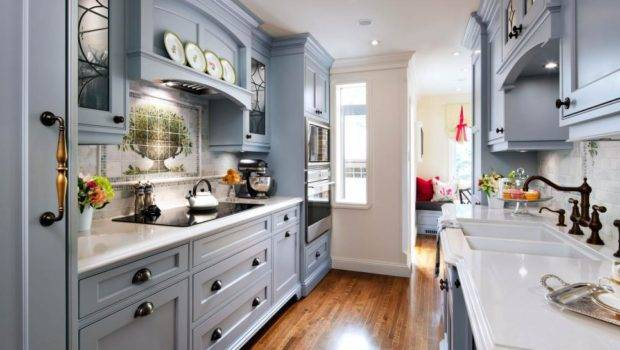 Blue Traditional Kitchen English Cottage Charm
