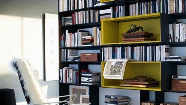 Book Worthy Modern Home Libraries Concept