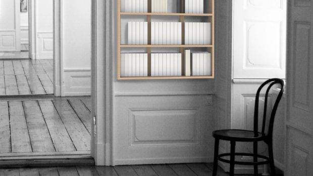Bookcase Hanging Wall Book Version