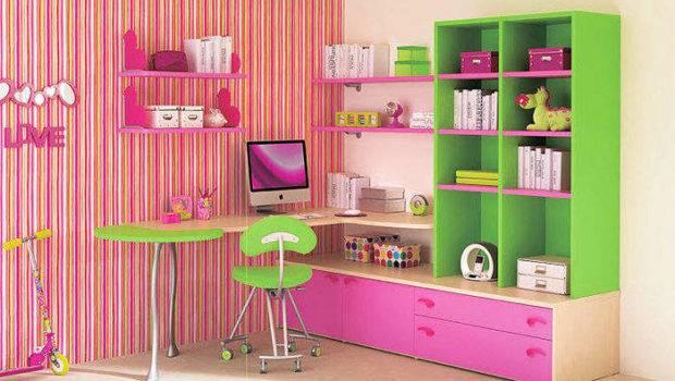 Bookcase Kids Bedroom Design Ideas