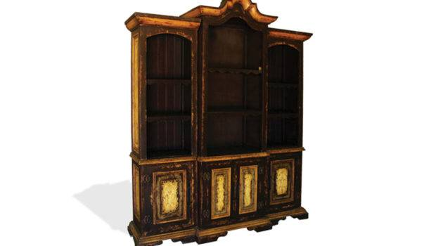 Bookcase Leonardo Black Baroque Furniture Finds More