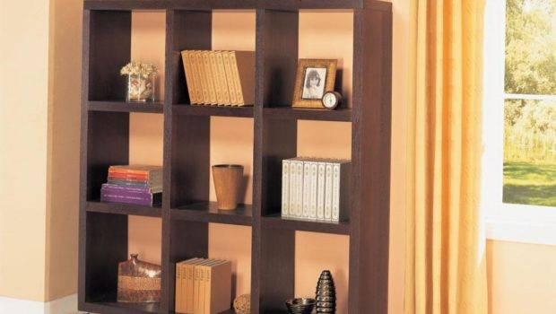 Bookcase Square Open Back Bookcases Coaster