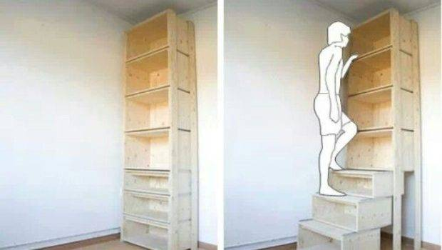 Bookcase Stairs Outdoor Living Pinterest