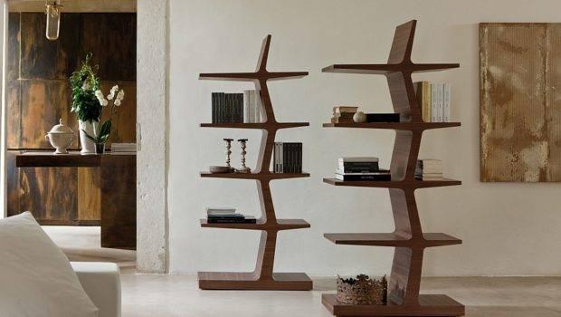 Bookshelves Trendy Modern Unleash Warmth Wood