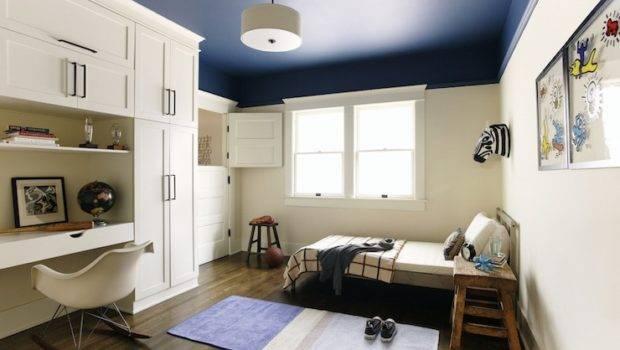 Boy Built Desk Contemporary Room Simo Design