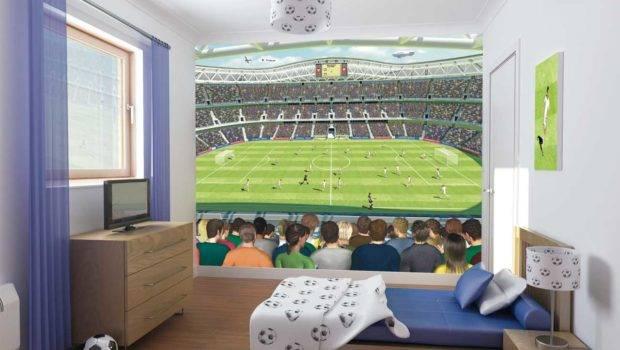 Boys Room Decorating Ideas Football Home