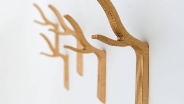 Branch Wall Hooktwig Coat Hook Wooden Studioliscious