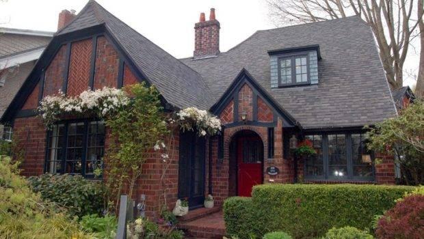 Brick Tudor Home Pinterest