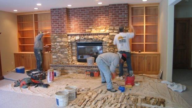 Bricks Fireplaces Covers Stones