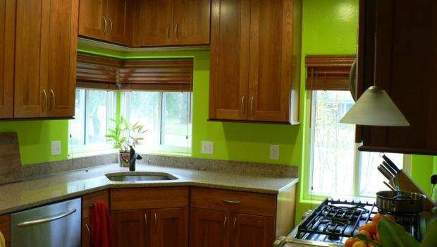 Bright Green Kitchen Awake Whisk