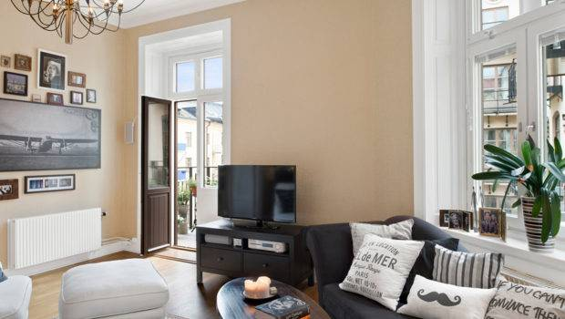 Bright Two Room Apartment Interior Design Sweden