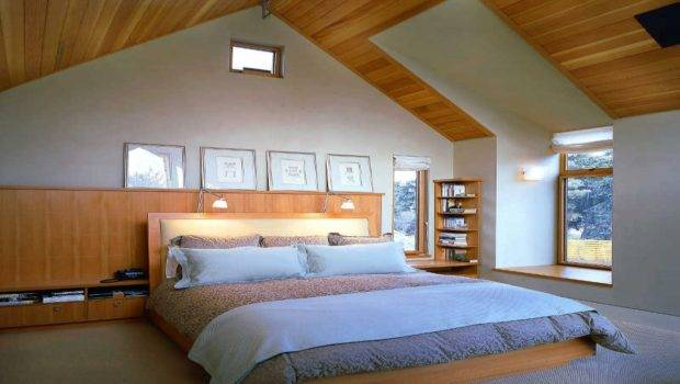Brilliant Modern Attic Bedroom Design Ideas Homes