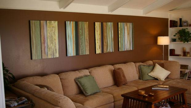 Brown Wall Paint Living Room