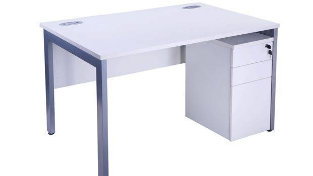 Budget White Desks City Office Furniture
