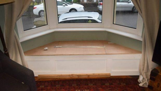 Build Victorian Bay Window Seat Storage