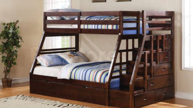 Bunk Bed Storage Ladder Trundle Loft Beds