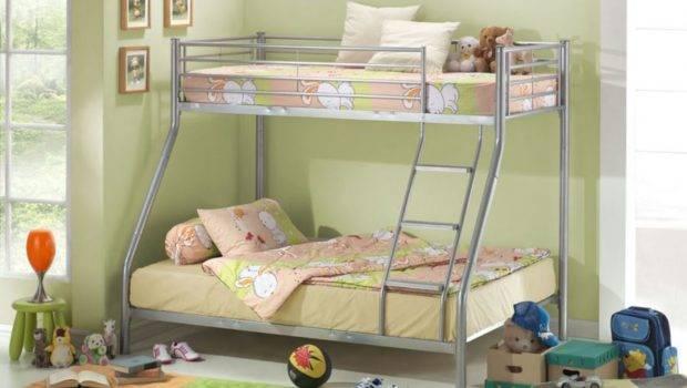 Bunk Beds Furniture Joseph Three Sleeper Metal Bed