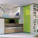 Bunk Beds Teens Girls Colourful Bedroom Decorating Ideas