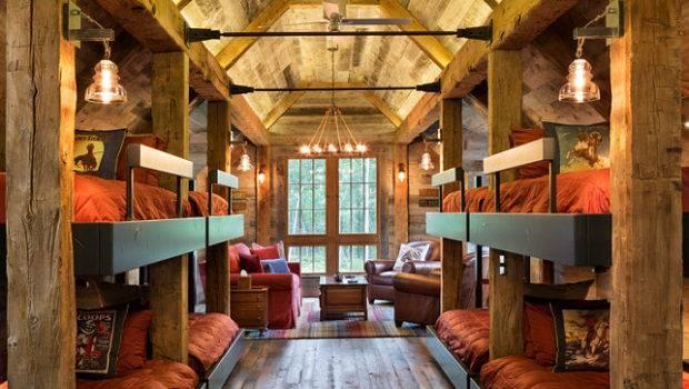 Bunk House Rustic Interiors Home Bunch Interior