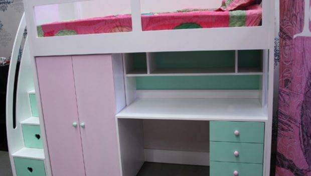 Buy Kids Space Saver Loft Bed Frame