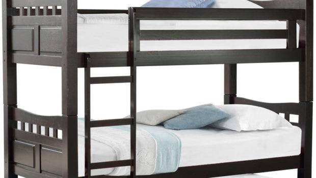 Buy Mclarry Bunk Bed Pull Out Cappuccino Finish