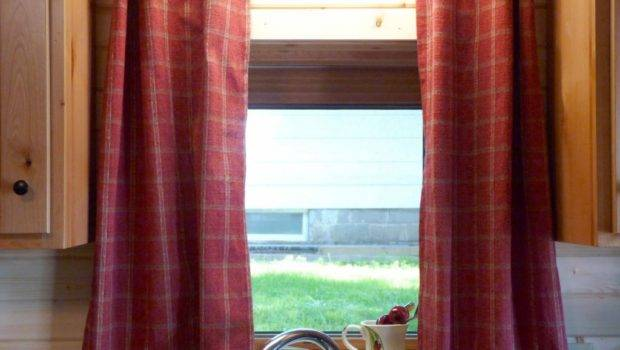 Cabin Home Curtains Improvement Modern Rustic Decor