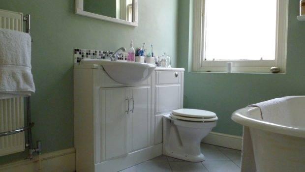 Cabinet Bathtubs Bathroom Sink Faucets Mirror Simple