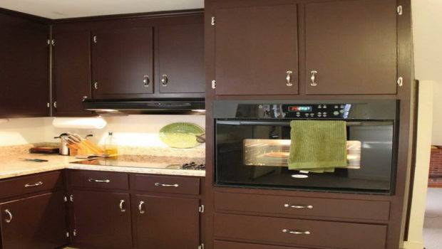 Cabinet Painting Color Ideas Natural Brown Kitchen