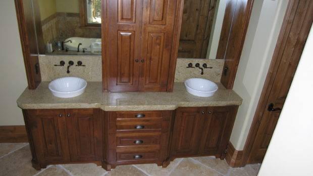Cabinets Granite Pedestal Sink Vanity Cabinet