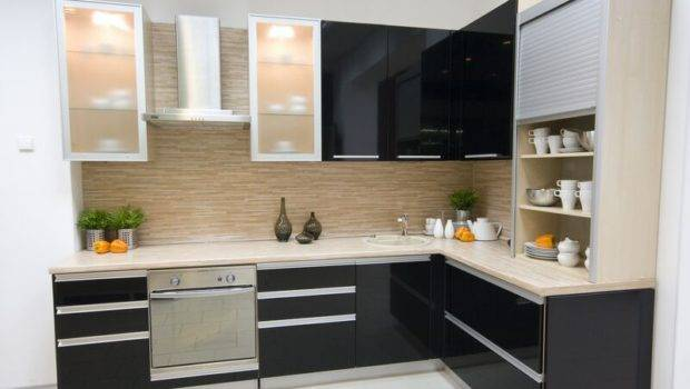 Cabinets Kitchen Black Different Ideas