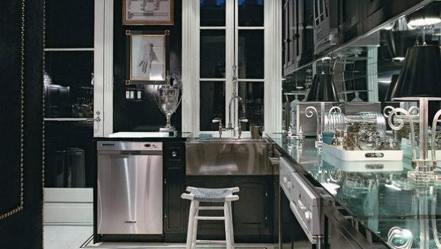 Cabinets Kitchen Modern Black