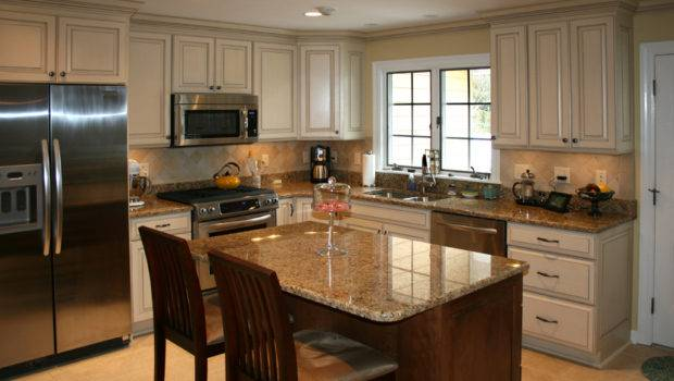 Cabinets Kitchen Remodeling Painted Glazed