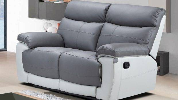 Care Grey Leather Sofa Kienandsweet Furnitures
