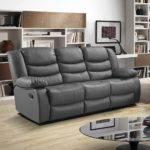 Care Grey Leather Sofa Kienandsweet Furnitures