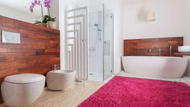 Carpeted Bathroom Making Work Modernize