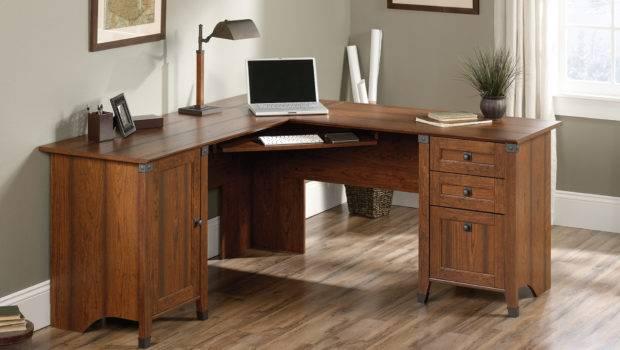 Carson Forge Corner Computer Desk Sauder
