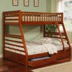 Casual Style Twin Bunk Bed Beds