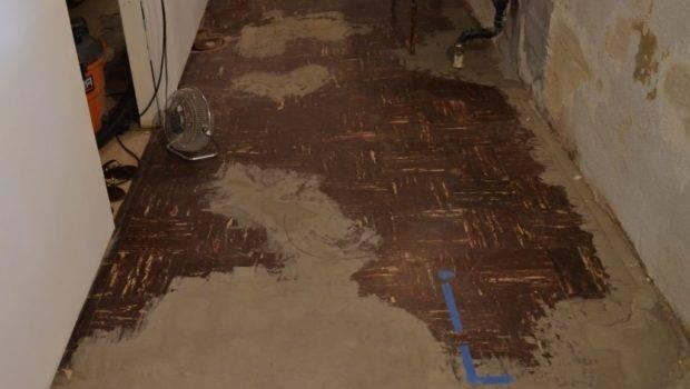 Ceramic Tile Basement Floor Gold Smith Tiling