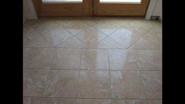 Ceramic Tile Basement Floor Part Youtube