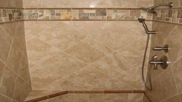 Ceramic Tile Designs Showers Small Bathroom Shower Ideas